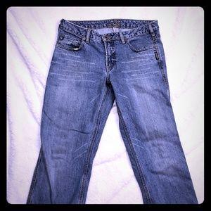 Silver Jean's Straight Cut